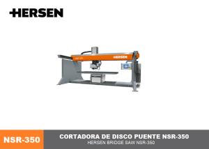 Cortadora disco puenteNSR350