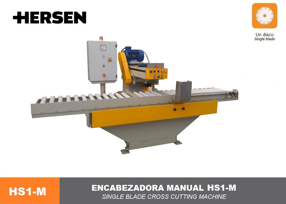 Encabezadora manual HS1-M