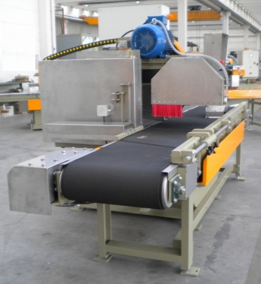 encabezadora para corte automatico con cinta