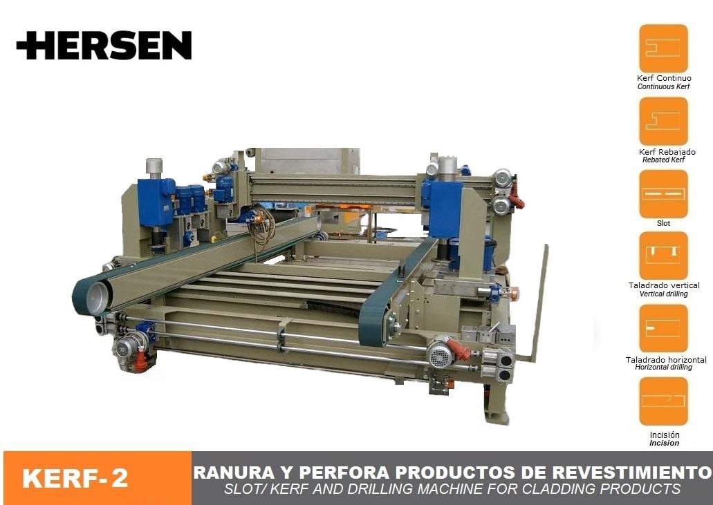Máquina para revestimiento de fachadas KERF-2