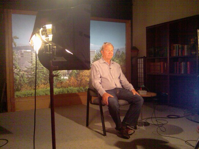 Hershel - ESPN2 Nascar Now Studio shot