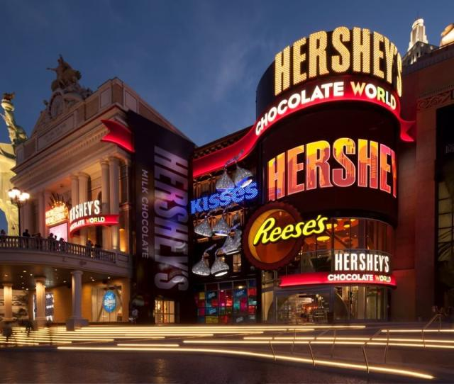 Where Chocolate Lovers From Around The World Can Enjoy Unique Hersheys Candy Experiences Fresh Made Hersheys Sweets And A Wide Selection Of Gifts