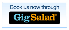 Book us now through GigSalad