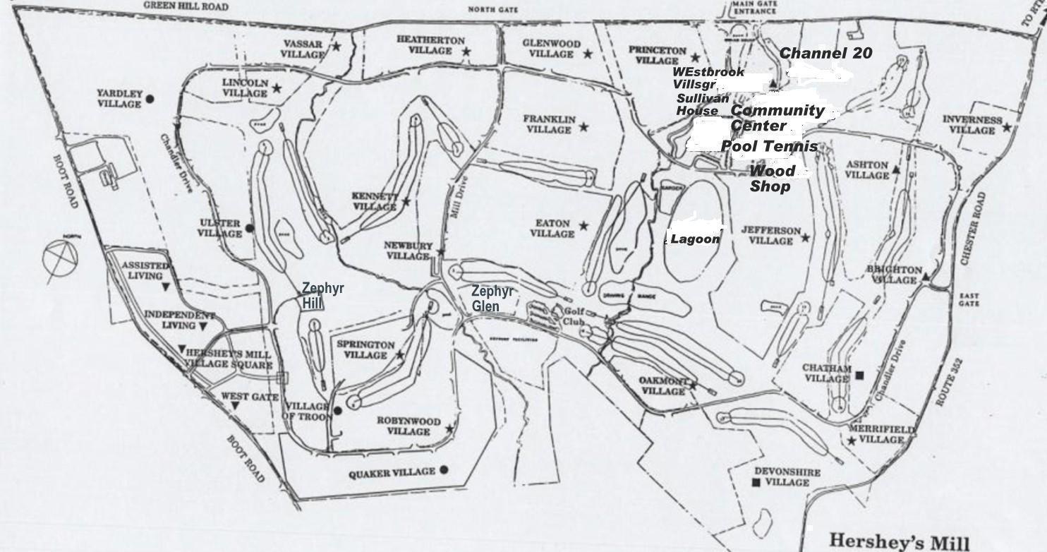 Internal Map Hm Homeowners