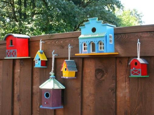 Bird-Boxes fence