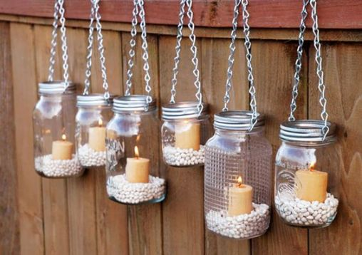 lamps fence