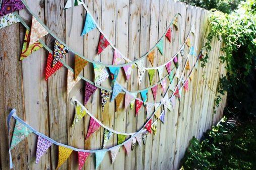 ribbon fence