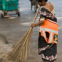 Woman accepts sweeper's job, faces social boycott