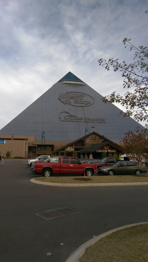 True or False: The Pyramid is now a giant Bass Pro Shops.
