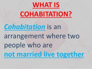cohabitation-