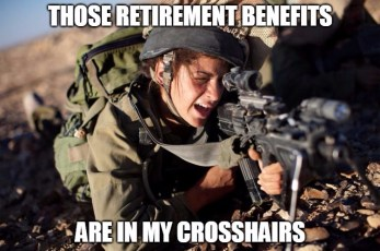 military retirement in Tennessee
