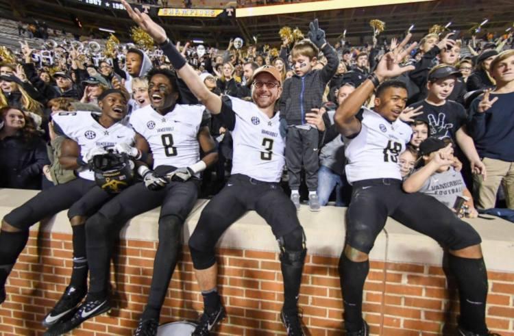 Vanderbilt victory over Tennessee