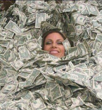 wife's money