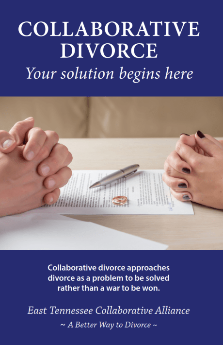 East Tennessee Collaborative Divorce brochure