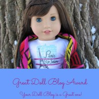The Great Doll Blog Award - By IrishAG