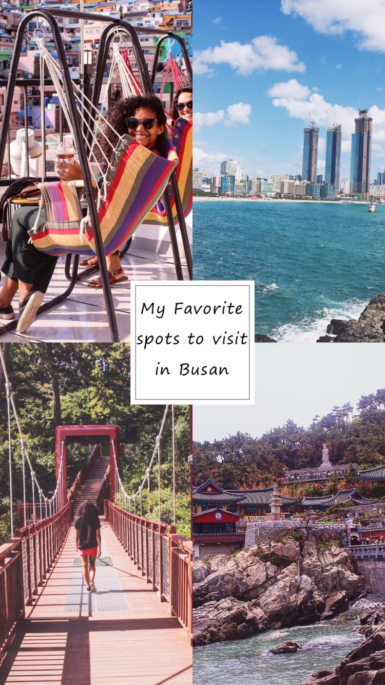 Follow me as i discover the best spots to visit in the MegaCity Of Busan South Korea. Not only will i svae you time and help you from not getting lost in this Big coastal city they will also hlep you create good memories and capture great pictures with breath taking views from these beautiful iconic sites.
