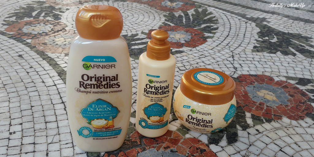 review champu mascarilla original remedies elixir argan garnier