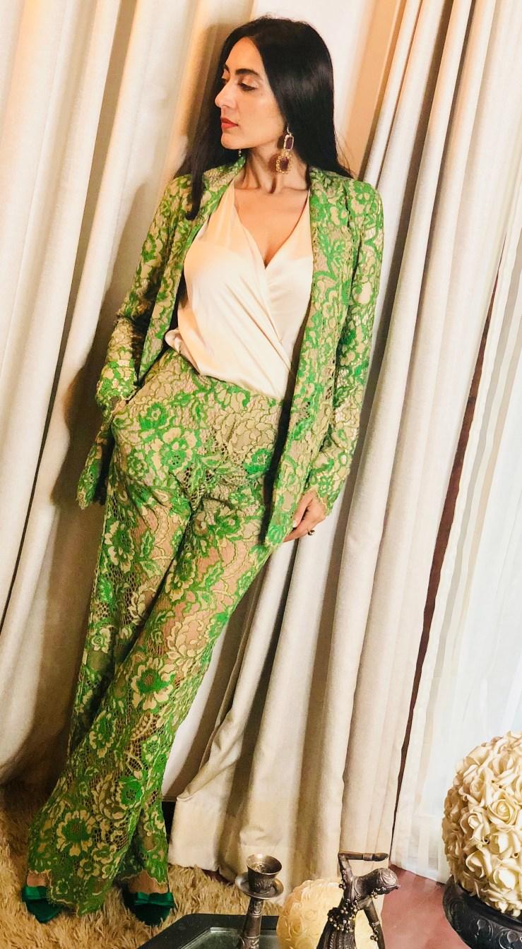 The Mesmerising Lace - Rupika Chopra