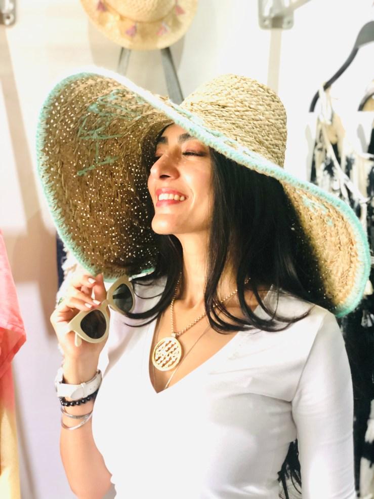 Wide Brim Sun Hat - Rupika Chopra