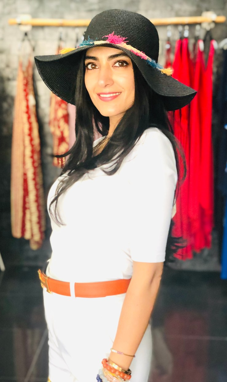 Small Floppy Hat - Rupika Chopra