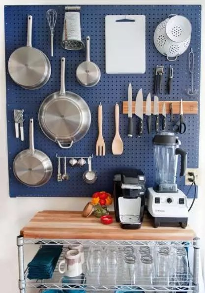 6 Easy Ways To Use DIY Pegboards to Organize Your Home
