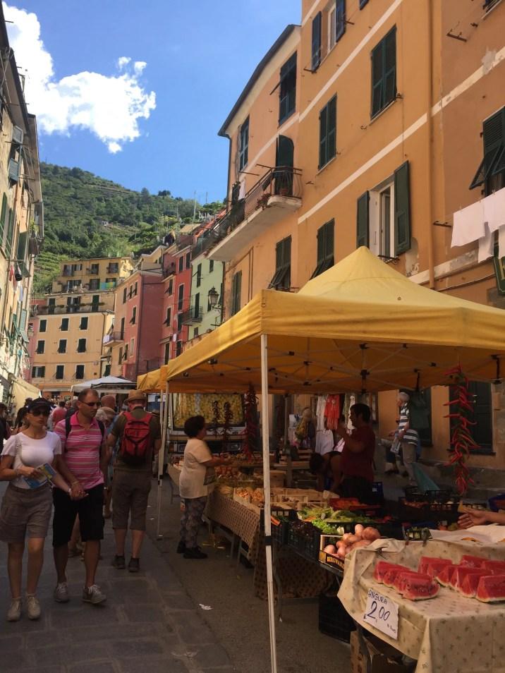 Vernazza market