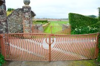 Wave-form gates at Portrack House