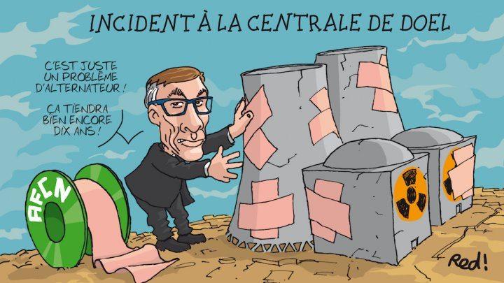 Les centrales nucléaires belges