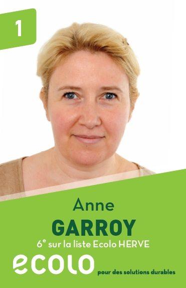 6 : Anne Garroy
