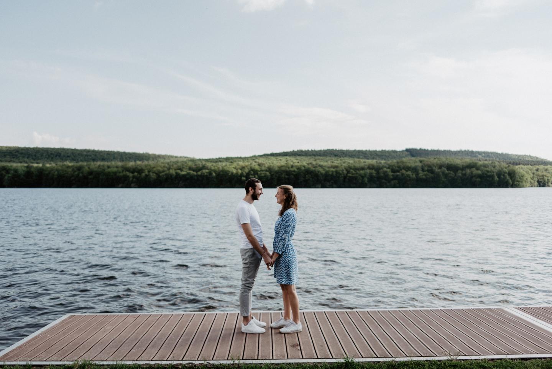 engagement au Lac des Vieilles Forges