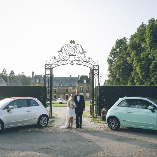 mariage au Château de Guignicourt-sur-Vence