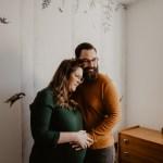 Une séance grossesse automnale | Adeline & Benjamin