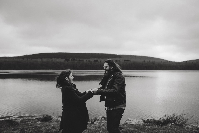séance grossesse au lac des vieilles forges