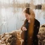 Une séance grossesse au Lac des Vieilles Forges | Claire & Yohan