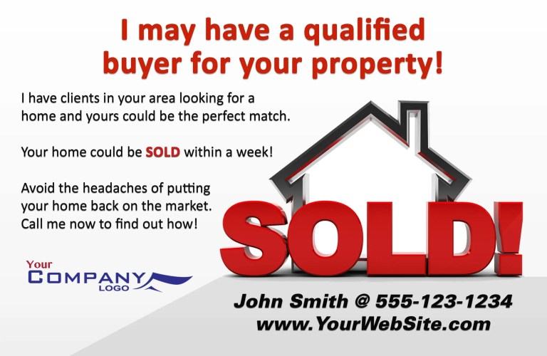 have a buyer real estate flyer