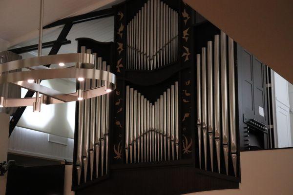 Vooraanzicht Orgel Oosterkerk