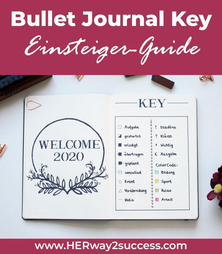 Bullet Journal Key Einsteiger Guide