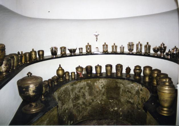 Herzgruft der Habsburger in der Loretokapelle der Augustinerkirche in Wien
