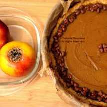 Sweet Potato Pie & Baked Apples © Stefanie Neumann - All Rights Reserved.
