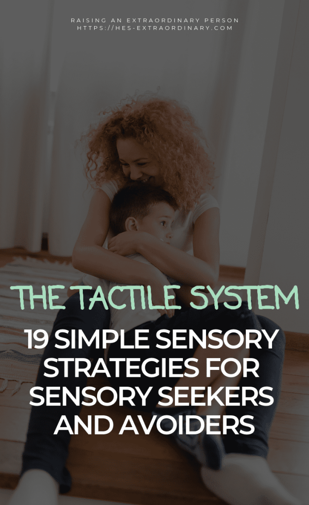 THE TACTILE SYSTEM - How it works, Signs your child has sensory processing problems, strategies for tactile defensiveness and tactile input seeking. #SensoryDiet #SPD #SensoryProcessing #SensoryPlay #PlayTherapy #ToddlerDevelopment #Autism #ADHDKids