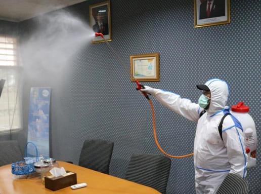 Jasa disinfectant Kantor Jatiuwung Tangerang Banten