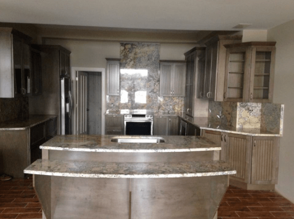 Delicatus Cream Kitchen Granite Top
