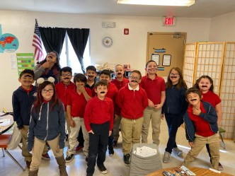 Red Ribbon Mustache Day 2019
