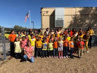 october spirit week orange yellow class 2019