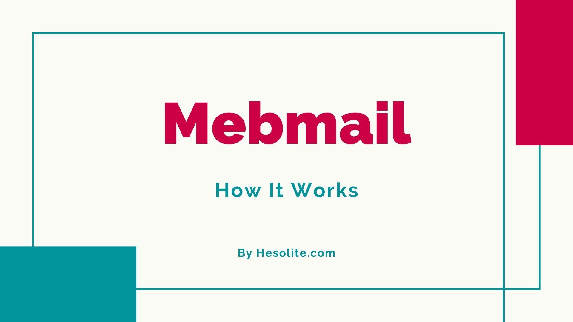 Mebmail