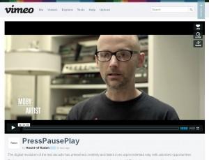Nouvelle page Vimeo