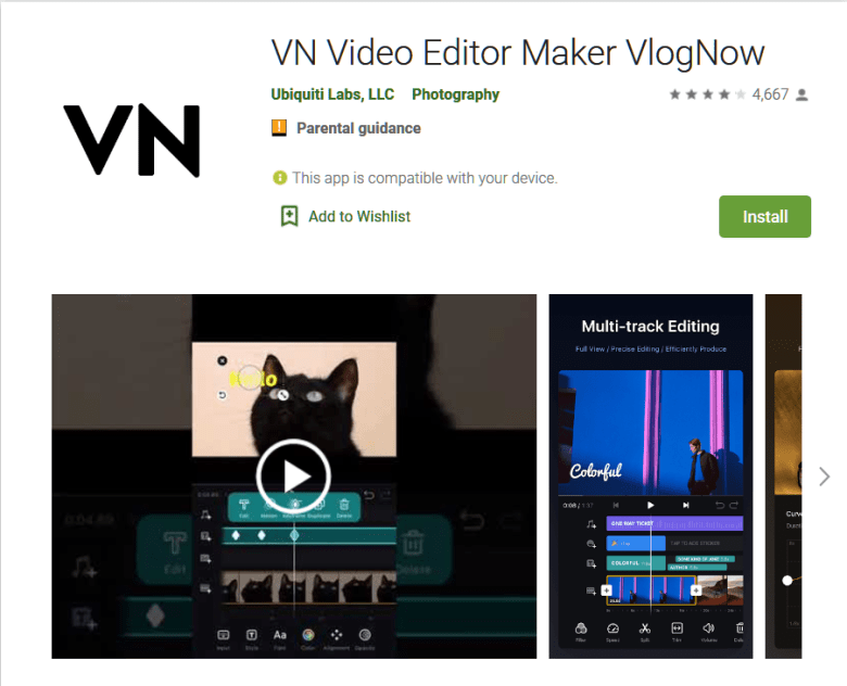 VN Video Editor Maker