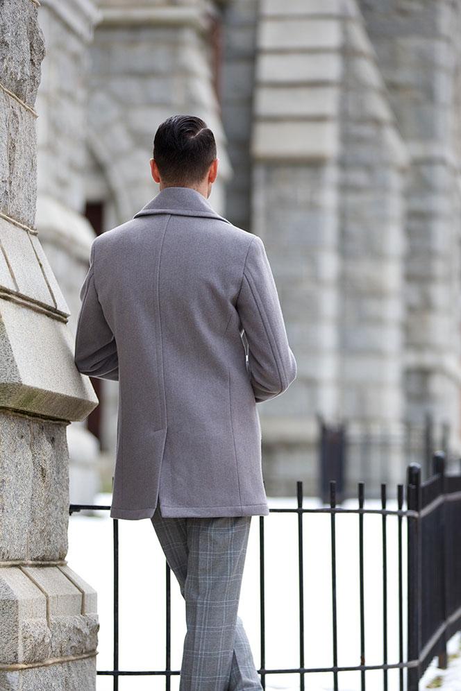 All Grey Tonal Dressing - He Spoke Style