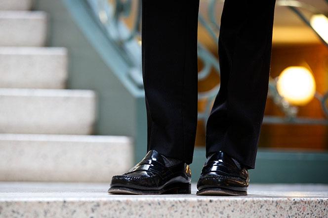 Black Waistcoat and Pants - He Spoke Style
