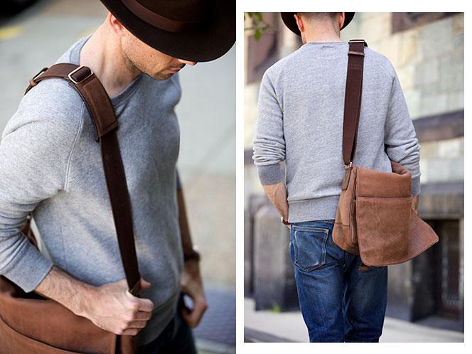 Messenger Bag - He Spoke Style